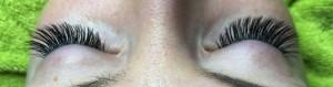 Wimpernverlängerung Vorher/Nachher Bilder