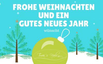 Frohe Weihnachten und eine gutes neues Jahr!