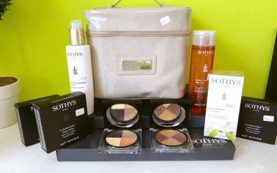 Unser Angebot im Juni – Kaufen Sie ein Lidschatten Set und weitere Produkte von Sothys im Gesamtwert von 100 € – Sothys Kosmetiktasche gratis dazu erhalten