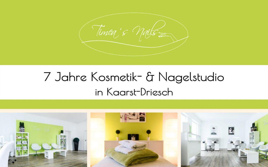 7 Jahre Timea´s Nails in Kaarst-Driesch – Besondere Angebote im Oktober – kleine Feier am 02. November