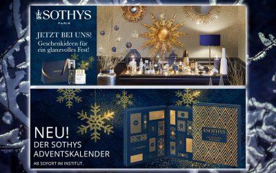 Angebot im November – Aktionen mit Sothys Gesichtscreme und Wimperntusche – Adventskalender, Detox Energie und Weihnachtsgeschenke